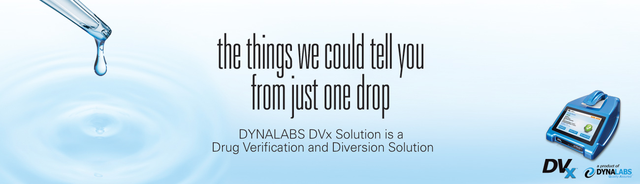 Drug Validation and Diversion testing
